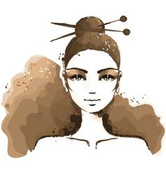 watercolor1 vector image