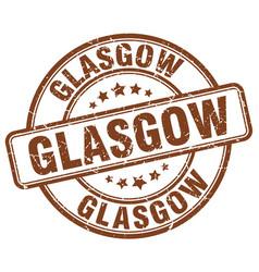 Glasgow stamp vector