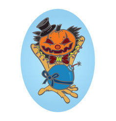 Hallowen pumpkin vector