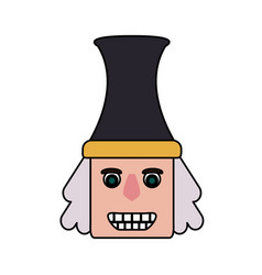 nutcracker icon image vector image