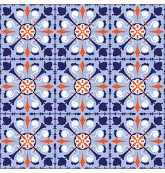 seamless arabic tiles vector image vector image