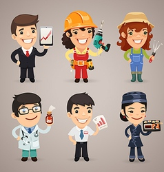 Professions set1 1 vector