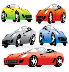 Racing car2 vector