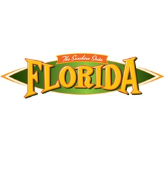 Florida the sunshine state vector