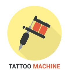 Tattoo machine vector