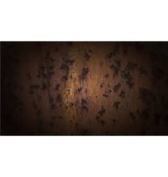 Background of rust metal vector