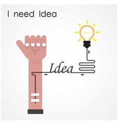 I need idea concept vector