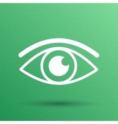 Eye icon vision symbol look graphic vector