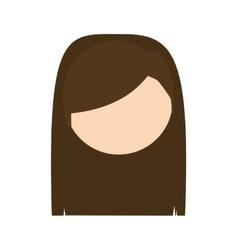 Head woman mother design vector