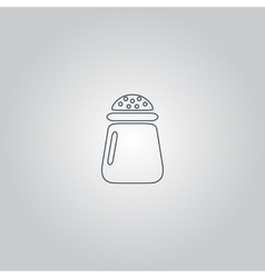 Salt or pepper - icon isolated vector