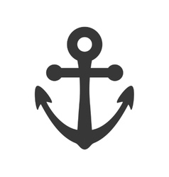 Anchor icon Sea lifestyle design graphic vector image