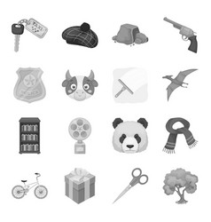 animals education sports and other web icon in vector image vector image