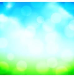 Blured Spring Background vector image