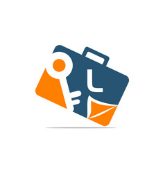Briefcase key document initial l vector