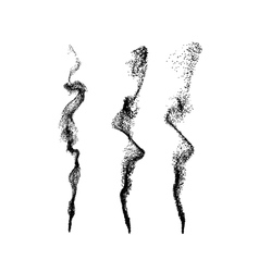 Smoke imitation vector image