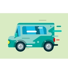 cartoon car icon vector image