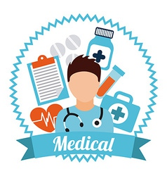 Medical care vector