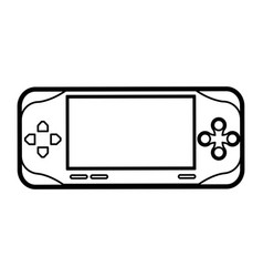 Video game controller icon image vector