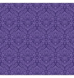 Wallpaper in royal baroque style vector