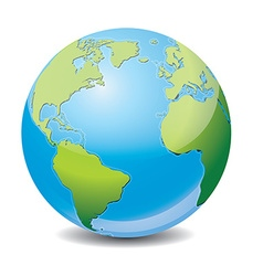 Icon of earth vector