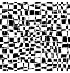 Checker Chess Seamless Pattern vector image