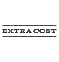 Extra cost watermark stamp vector