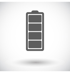 Full battery vector image