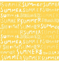 summer pattern yellow vector image vector image