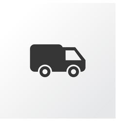 Van icon symbol premium quality isolated truck vector