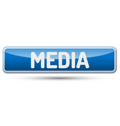 Media - abstract beautiful button with text vector