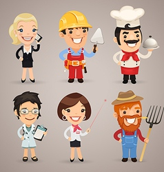 Professions set1 2 vector