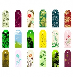 bookmarks set vector image