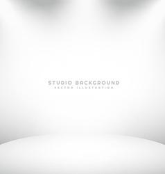 photography studio background vector image vector image