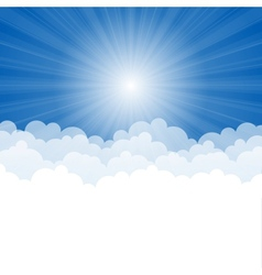The Sky vector image
