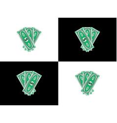 Three hundred dollars vector