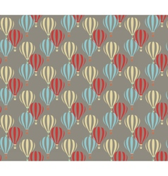 Air balloon abstract pattern vector image
