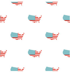 American map pattern seamless vector