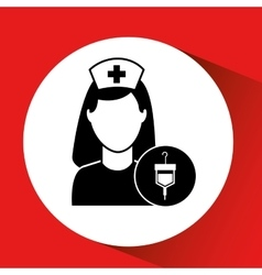 Blood bag donation hospital medicine icon vector