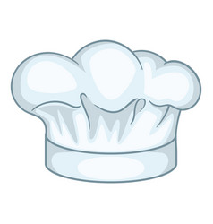 Cook hat icon cartoon style vector