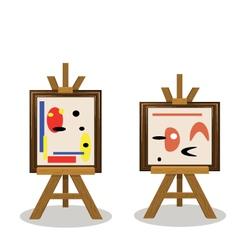 Modern art2 vector