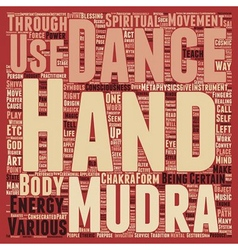 Mudras hand symbolism hand mysteries part 3 text vector