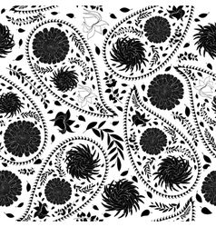 Oriental cucumbers seamless pattern vector image vector image