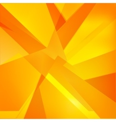 Autumn orange yellow and red abstract triangle vector