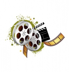 film elements vector image