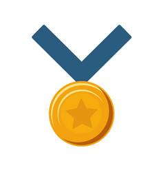 kawaii medal of honor vector image