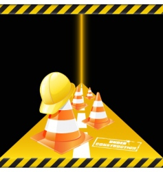 Road works vector