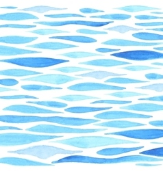 Watercolor sea background vector