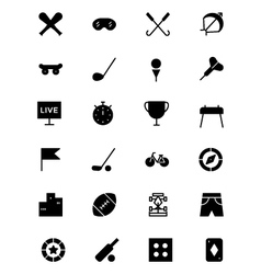 Sports Icon 2 vector image