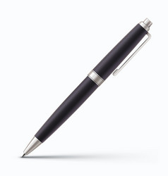 classic ballpoint pen vector image vector image
