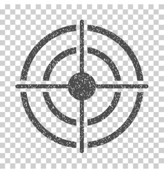 Target grainy texture icon vector